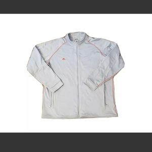 Adidas ClimaWarm Golf Full Zip Gray Jacket in exce
